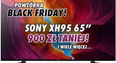 Sony XH95 telewizor promocja