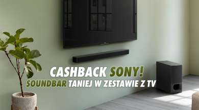 Sony cashback promocja Media Expert soundbar telewizor