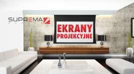 Kino domowe z projektorem? Dobry ekran projekcyjny to kluczowy element! Sprawdzamy historię i ofertę polskiej firmy SUPREMA POLSKA