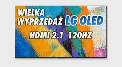 LG OLED GX promocja wyprzedaż RTV Euro AGD