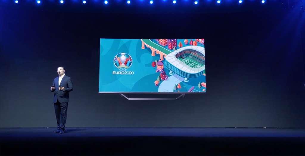 Hisense szykuje specjalne wydanie telewizora ULED U7 144Hz na turniej Euro 2020! Płynność idealna do oglądania meczów