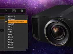 JVC Reference Series Frame Adapt HDR