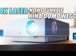 LG CineBeam 4K projektor kino domowe lifestyle