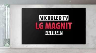 LG MAGNIT MicroLED telewizor ekran