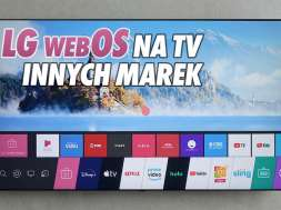 LG webOS telewizory system