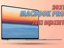 Macbook Pro 2021 laptop Apple wygląd koncept