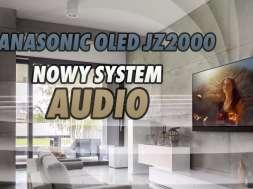Panasonic OLED JZ2000 telewizor audio dźwięk system Dolby Atmos