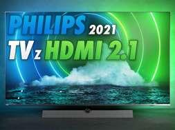 Philips telewizory 2021 HDMI 2.1