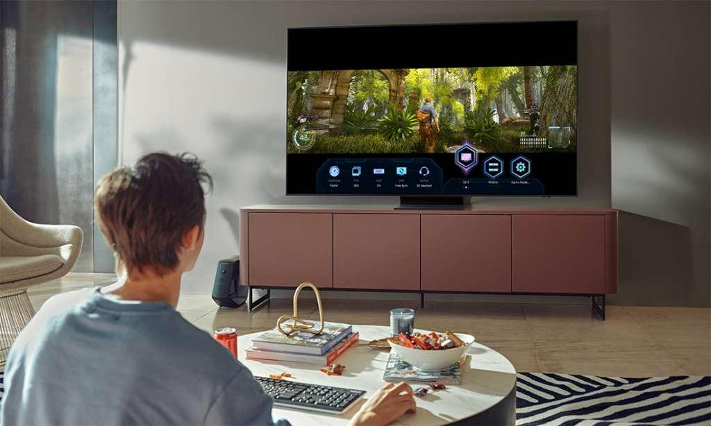 Samsung: moc nowości dla graczy w TV Neo QLED i QLED w 2021 roku! Format Ultrawide 32:9, Panel Gracza - co jeszcze?