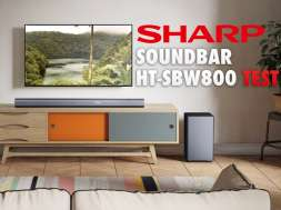 Sharp HT-SBW800 soundbar test lifestyle
