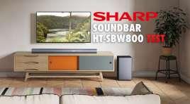 Sprawdzamy i odsłuchujemy flagowy model soundbar Sharp HT-SBW800 | TEST | Popraw znacząco dźwięk z telewizora!