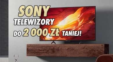 Sony telewizory LCD 4K promocja