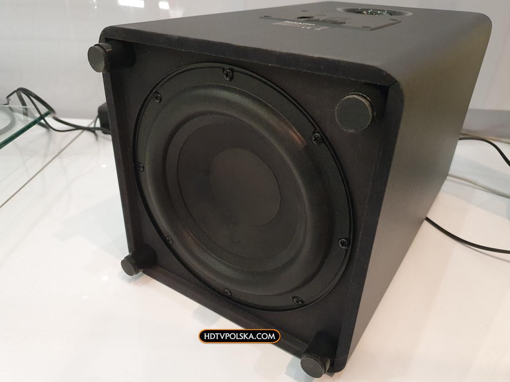 Soundbar Sharp HT-SBW800 Test Subwoofer 2