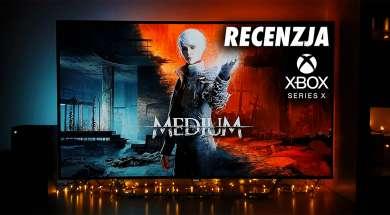 The Medium Xbox Series X recenzja Philips OLED Ambilight