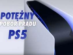PS5 PlayStation 5 konsola Sony pobór prądu