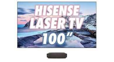 Hisense LASER TV wygląd