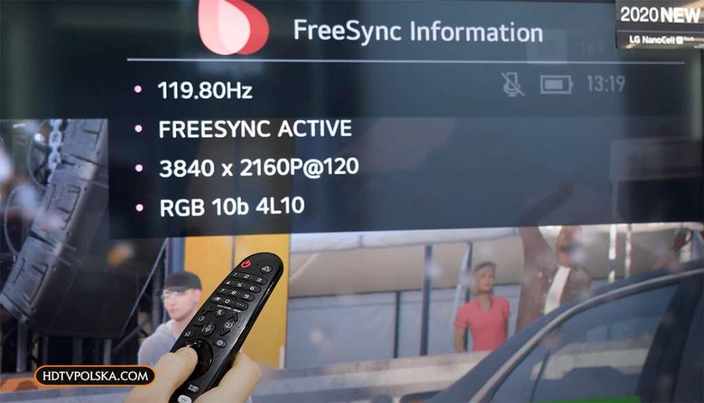 Ukryte menu FreeSync dla graczy w telewizorach LG OLED i NanoCell. Jak się do niego dostać?