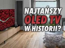LG OLED TV A1 telewizory 2021
