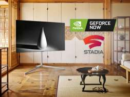 LG telewizor Google Stadia NVIDIA GeForce NOW