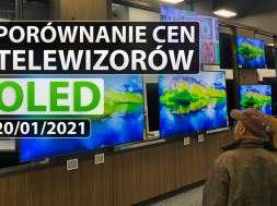 porównanie telewizorów OLED 2021 01 20 okładka