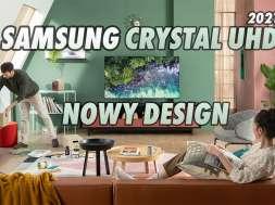 Samsung telewizory LCD Crystal UHD 2021