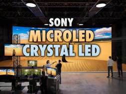 Sony MicroLED Crystal LED