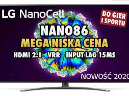 telewizor LG NANO 863 promocja przecena