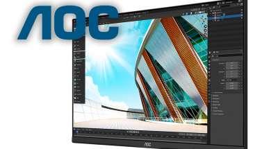 AOC U28P2A monitor wygląd okładka