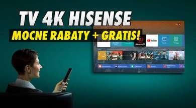 Hisense telewizory promocja rabaty Media Expert okładka