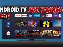 JVC VA8000 Android TV test okładka