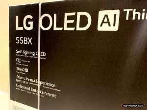 Karton LG OLED BX Promocja