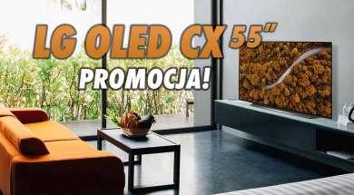 LG OLED CX 55 cali telewizor promocja