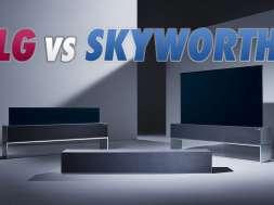 LG OLED RX zwijany rolowany telewizor lifestyle 2