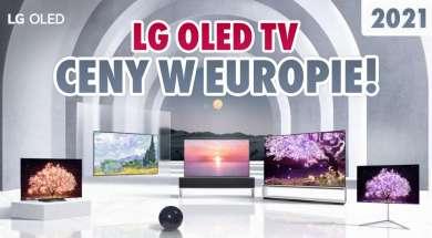 LG OLED telewizory 2021 ceny euro