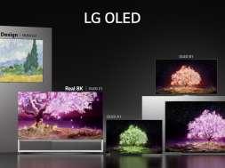 LG OLED telewizory 2021 lineup lifestyle