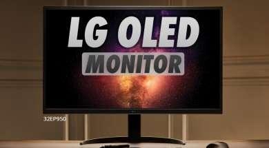 LG UltraFine monitor 4K OLED lifestyle