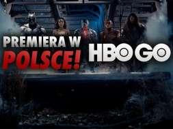 Liga Sprawiedliwości Zack Snyder film premiera Polska HBO GO okładka