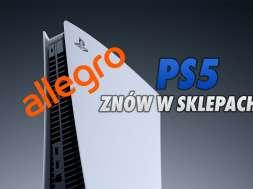 PS5 dostępna na Allegro