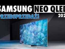 Samsung Neo QLED 2021 przedsprzedaż okładka
