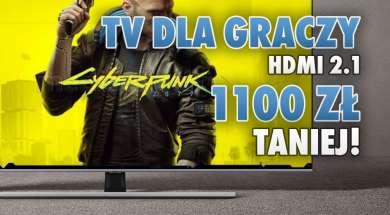 Samsung QLED telewizory dla graczy HDMI 2.1 promocja okładka