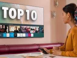 Samsung Smart TV QLED Q60 top 10 aplikacji Tizen okładka