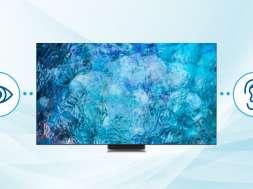 Samsung telewizory 2021 ułatwienia dla niesłyszących niedosłyszących