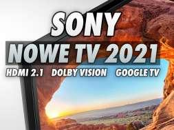 Sony telewizory 4K LCD 2021 X85J