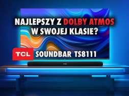 TCL soundbar TS8111 Dolby Atmos okładka