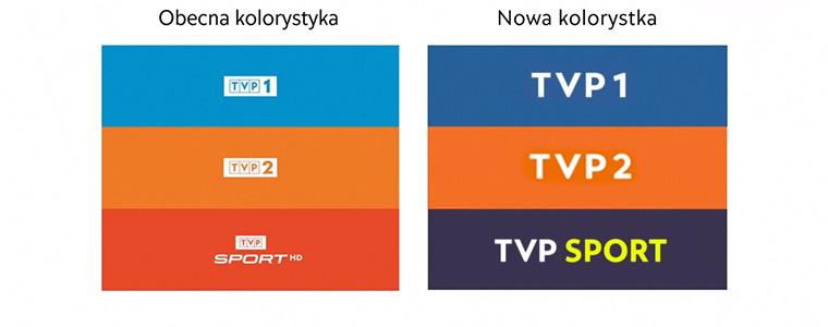 TVP prezentuje nowe loga swoich kluczowych kanałów. Urodą raczej nie grzeszą