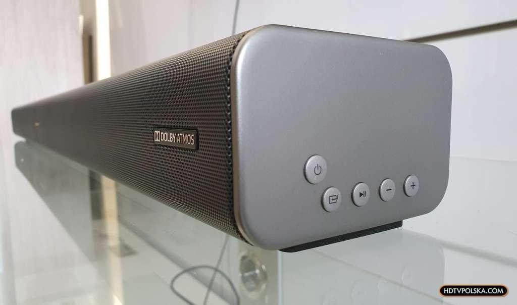 Test Sharp HT-SBW460 Dolby Atmos wygląd