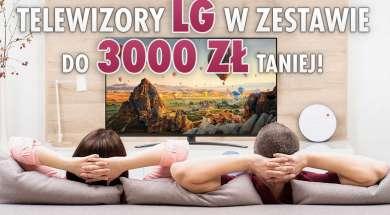telewizory LG promocja zestaw rtv euro agd