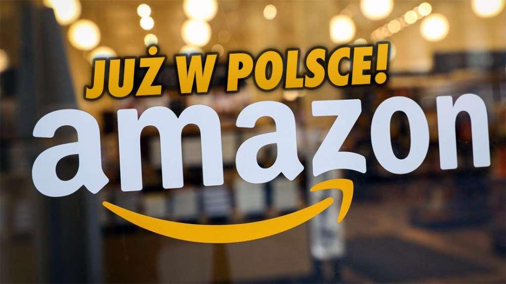 Amazon ruszył wreszcie w Polsce! Od dziś sklep jest dostępny dla kupujących