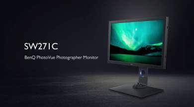 BenQ SW271C monitor lifestyle