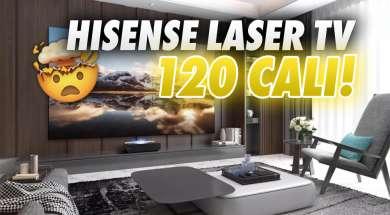 Hisense LASER TV L5F projektor 120 cali okładka
